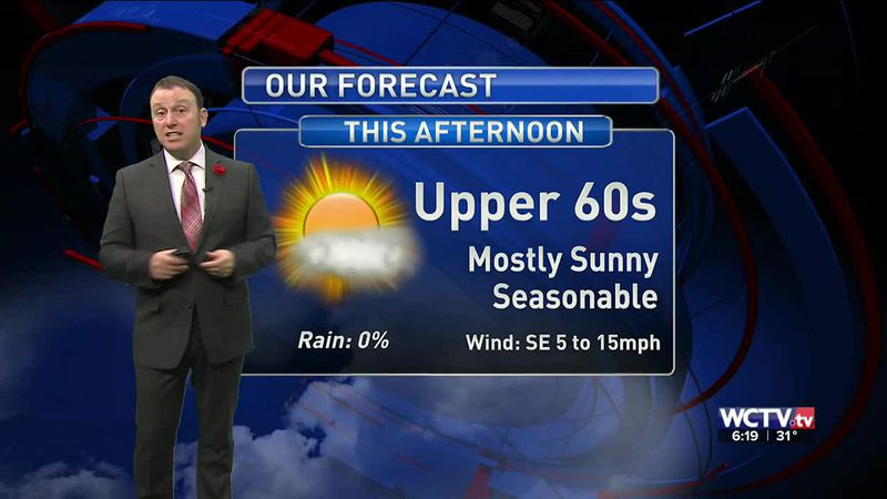 Meteorologist Rob Nucatola gives you the forecast for Tuesday, Jan. 19, 2021.