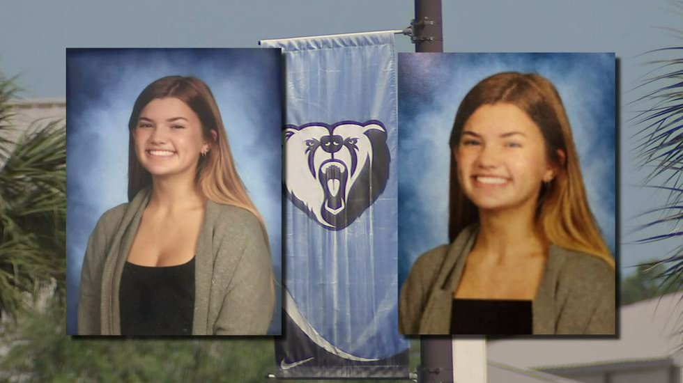 Riley O'Keefe, a 9th grader, says her yearbook photo was deemed inappropriate by the school and...
