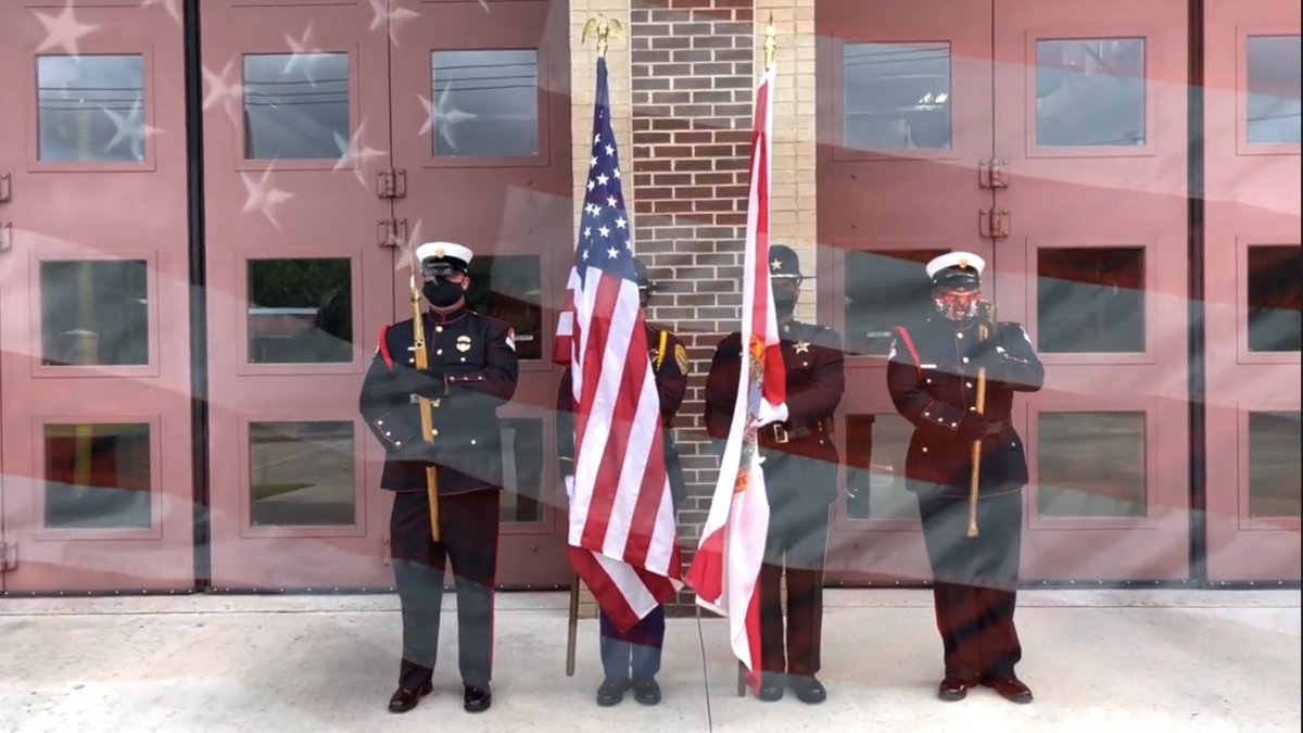Tallahassee firefighters and first responders throughout the city are sharing a video tribute...