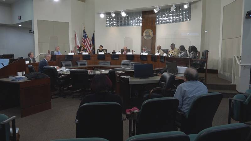 Multiple public speakers at Tuesday's meeting urged the CSC to choose a millage rate on the...