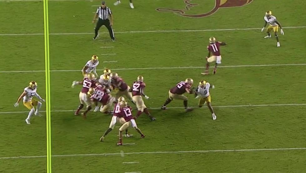 Corbin run blockers pull