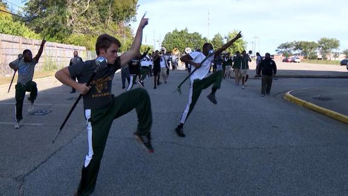 An Alabama high school drum major is marching his way to success after a viral Instagram video. (Source: CNN)