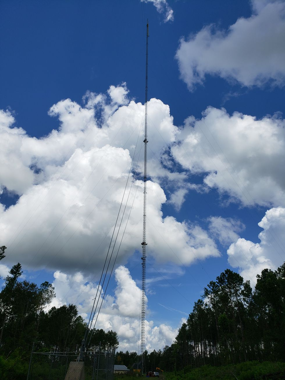 In about two and a half weeks, this tower will be at full strength, delivering WCTV to homes throughout South Georgia and the Big Bend.
