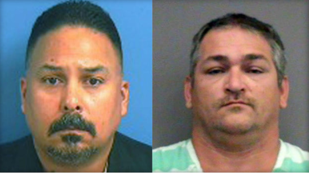 (From left) David Elliot Moran and Charles Thomas Newcomb / Alachua County Jail / CBS News