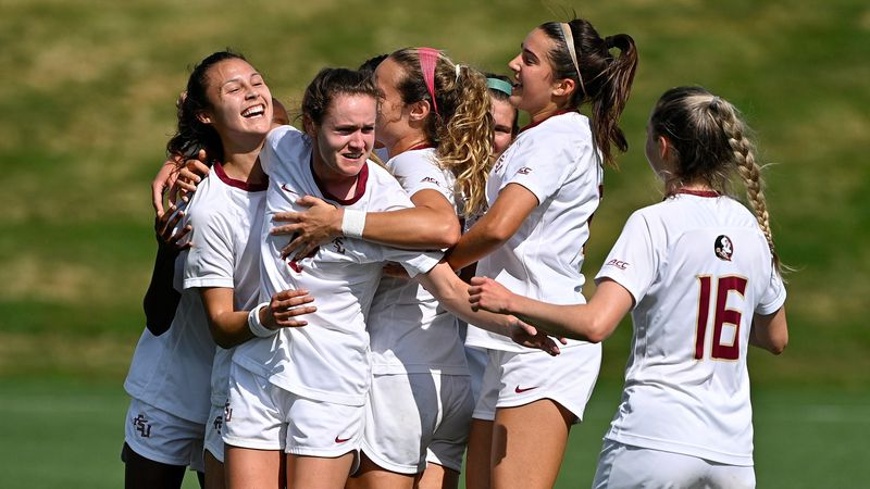 The top-seeded Florida State Seminoles soccer team defeated the Penn State Nittany Lions, 3-1,...