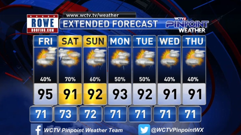 Chief Meteorologist Mike McCall takes a look at the forecast for your evening of Thursday, June...