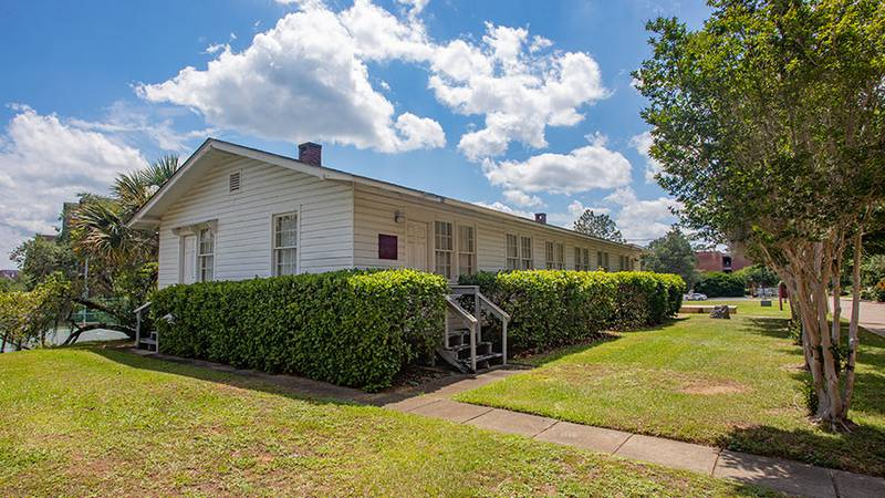 Florida State University has donated a former World War II training base building found on its...