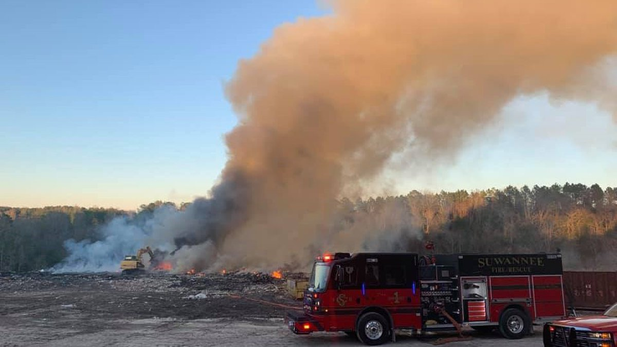 Florida Highway Patrol is warning motorists of a 150-acre fire in the area of U.S. 129 and...