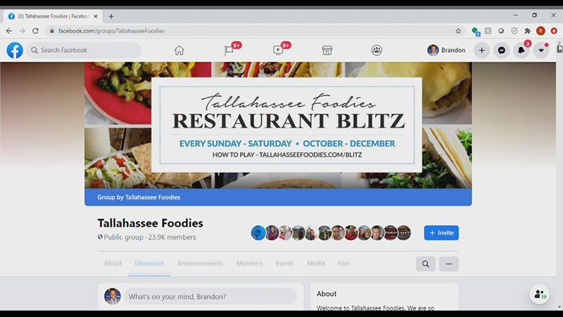 Tallahassee Foodies page helps boost businesses for local restaurants
