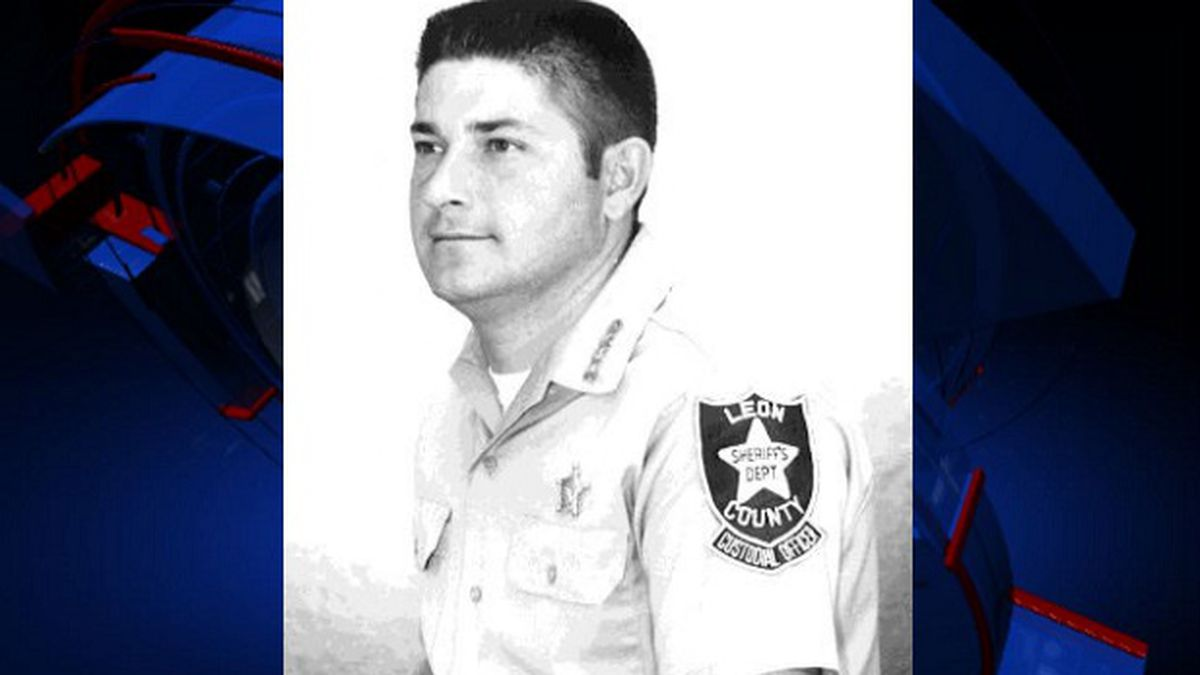 Deputy Khomas Revels was killed nearly 50 years ago while he was trying to stop a robbery, the sheriff's office says. (Image via Leon County Sheriff's Office)