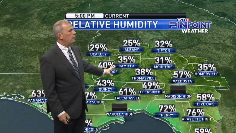 Chief Meteorologist Mike McCall takes a look at the forecast for your evening of Wednesday,...