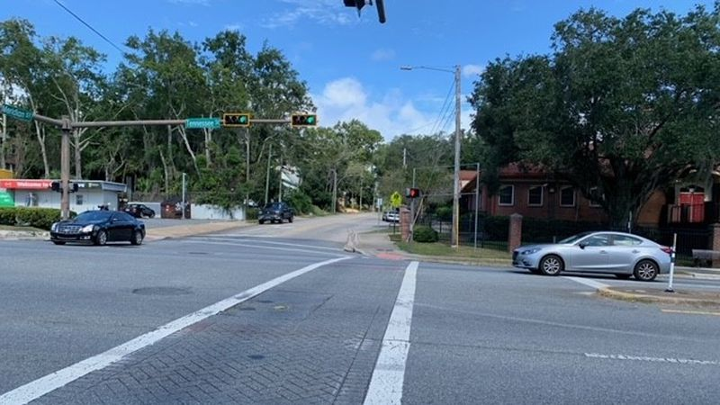 A man in a wheelchair suffered serious injuries after a truck hit him near the intersection of...