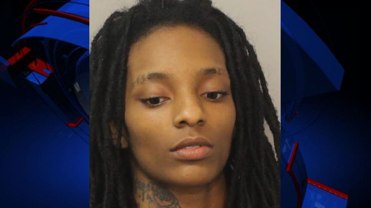 Te'Lea Jefferson, 23, was charged with murder and aggravated child abuse, the department says.