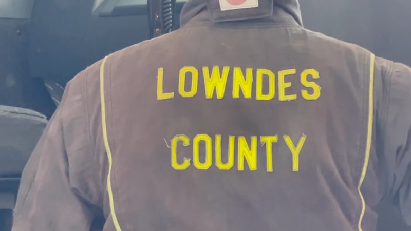 With the population increasing in Lowndes County, there's a higher demand for fire protection...