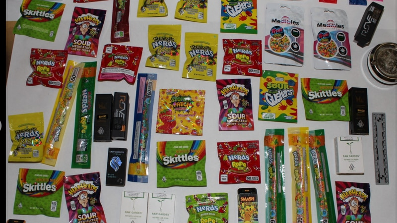 The Charlotte County Sheriff's Office warned parents of commercial-looking drug-laced candy...
