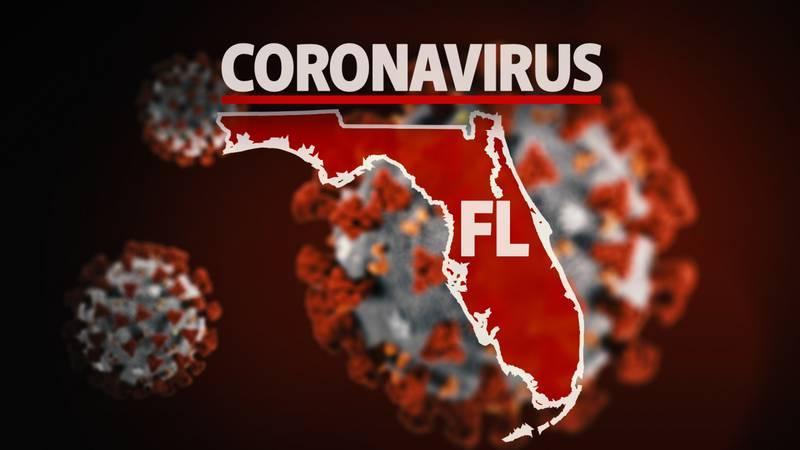 FILE PHOTO: Generic Florida COVID graphic
