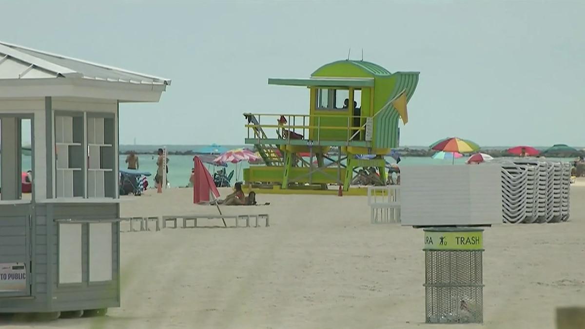 Miami-Dade, Broward beaches closing July 3 due to coronavirus pandemic