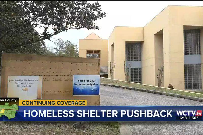 Businesses speak out against Mahan Drive City Walk homeless shelter