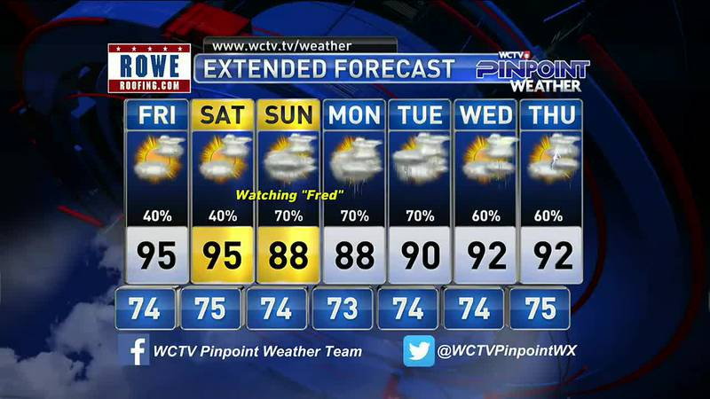 Mike's Thursday Evening Forecast: August 12, 2021