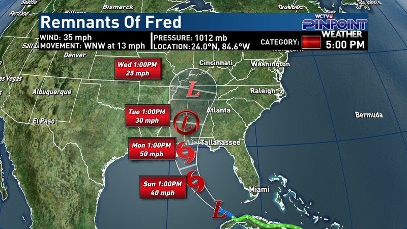 Remnants of Fred