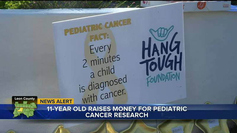 Katelyn Irwin raises thousands for Pediatric Cancer research