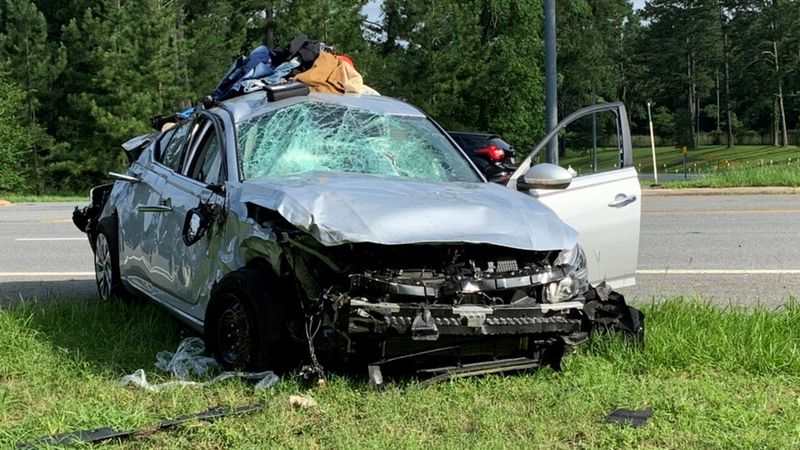 The Florida Highway Patrol says a stolen vehicle pursuit led to a crash on US 90 near I-10,...