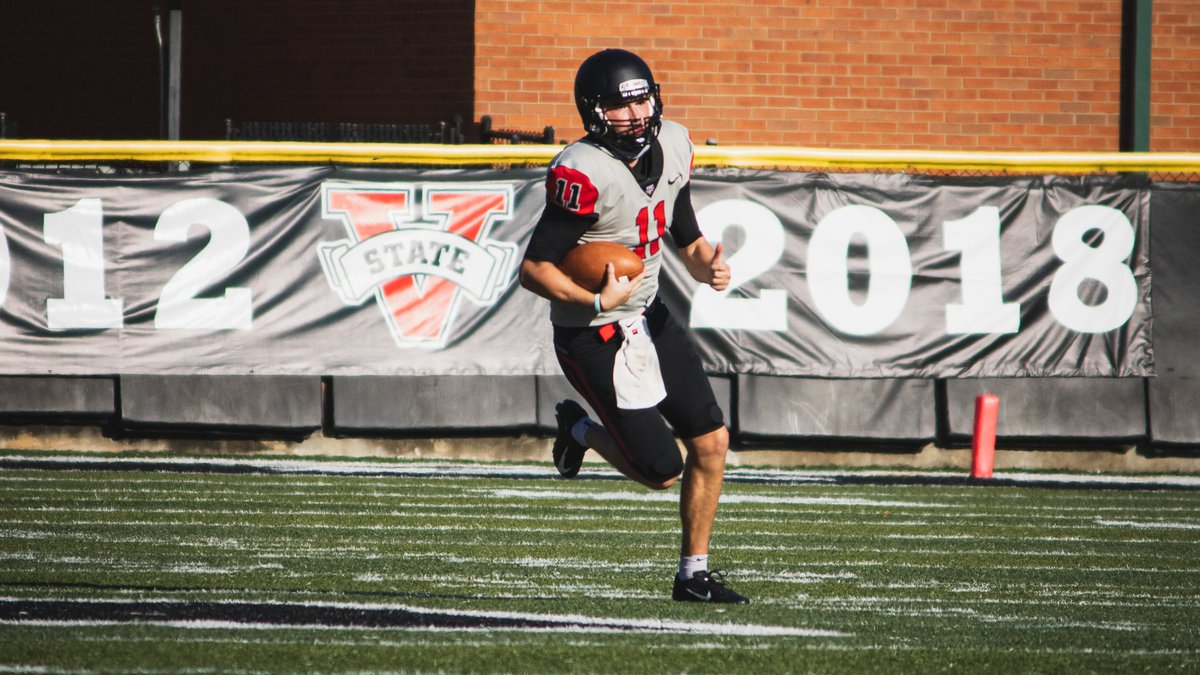 FILE PHOTO: Valdosta State football wraps up its fall practice period taking the field of...