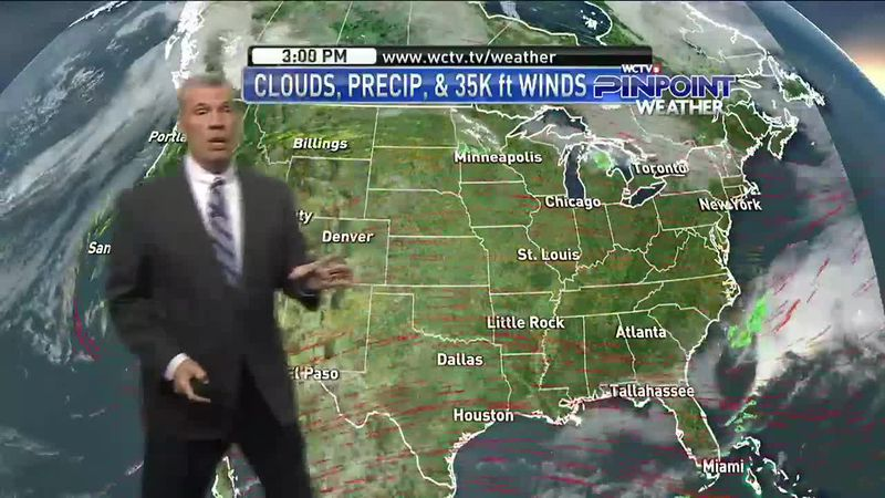 Chief Meteorologist Mike McCall has the details on the rain chances this weekend and the cooler...