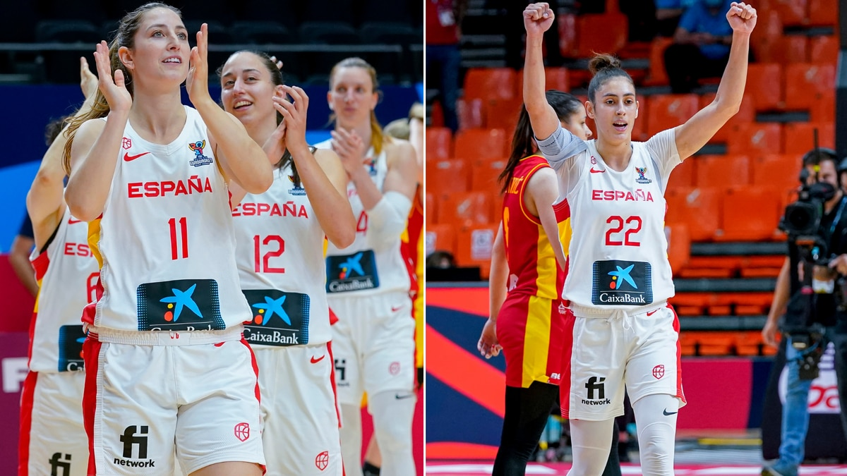 Guard Leonor Rodriguez and small forward Maria Conde will don the red and yellow of Spain in...