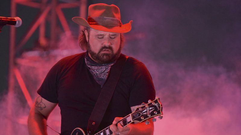 Randy Houser performs at Concerts In Your Car on Saturday, July 11, 2020, at the Ventura County...