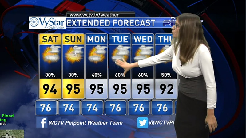 Meteorologist Hannah Messier takes a look at the forecast for your evening of Friday, July 23,...