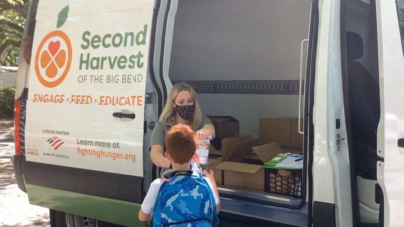 """""""Food on the Move"""" brings kid-friendly foods to five of Tallahassee's hungriest neighborhoods."""