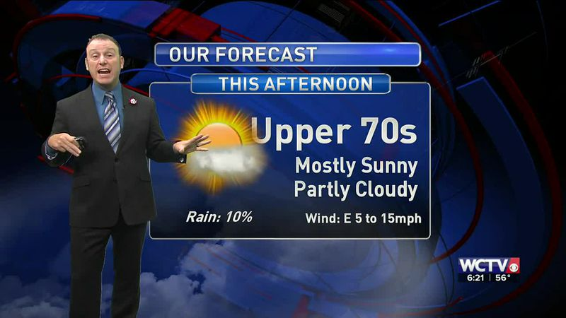 Meteorologist Rob Nucatola gives you the forecast for Thursday, Nov. 5, 2020.