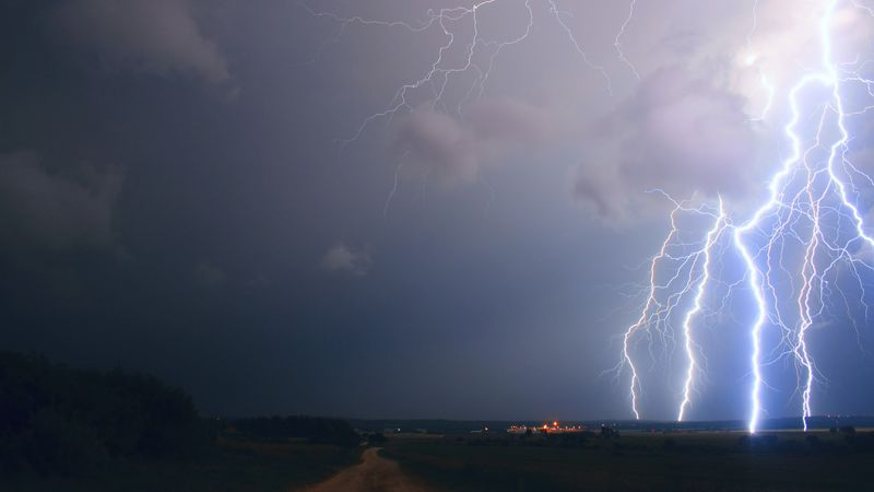 Thunderstorms in Florida can get loud and bright. The National Weather Service reports that the...
