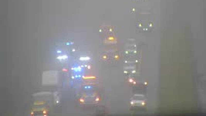 A crash on I-10 westbound at Exit 203 in Tallahassee is causing a large backup on the...
