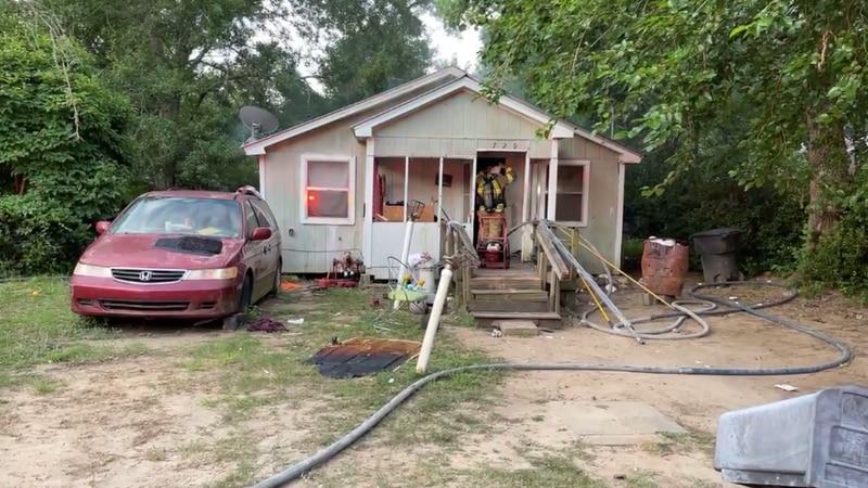 House fire on Westcott St.
