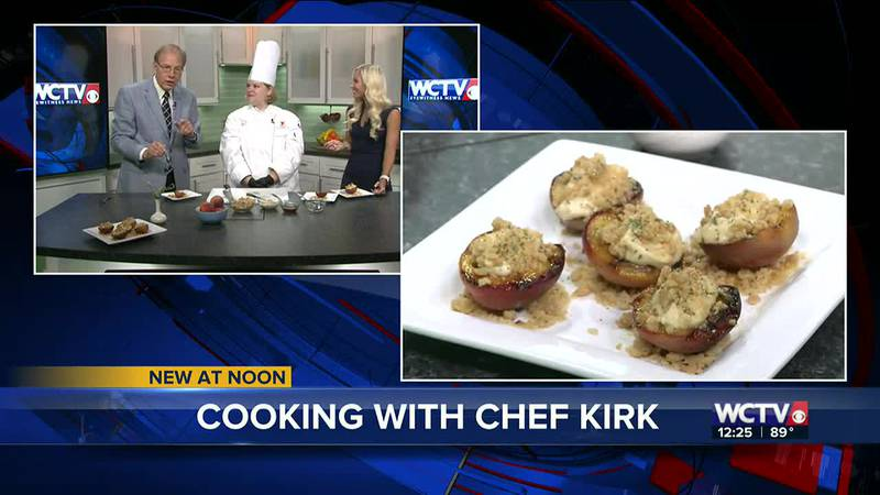 Chef Christian Kirk from Keiser University showed off this twist for a sweet summer fruit on...