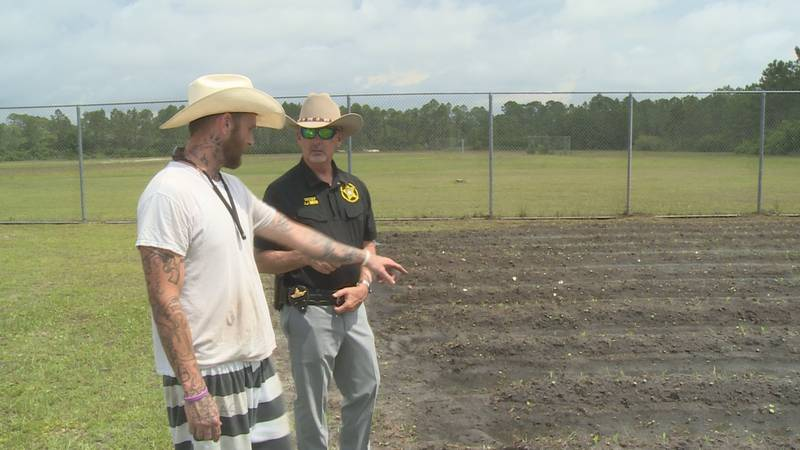 Franklin County Jail introduced a new garden inside of the jail for inmates who have not been...