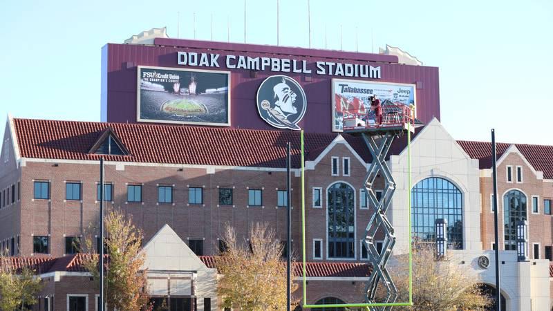 Exterior shot of Doak Campbell Stadium. (Photo: Ryan Kelly - WCTV)