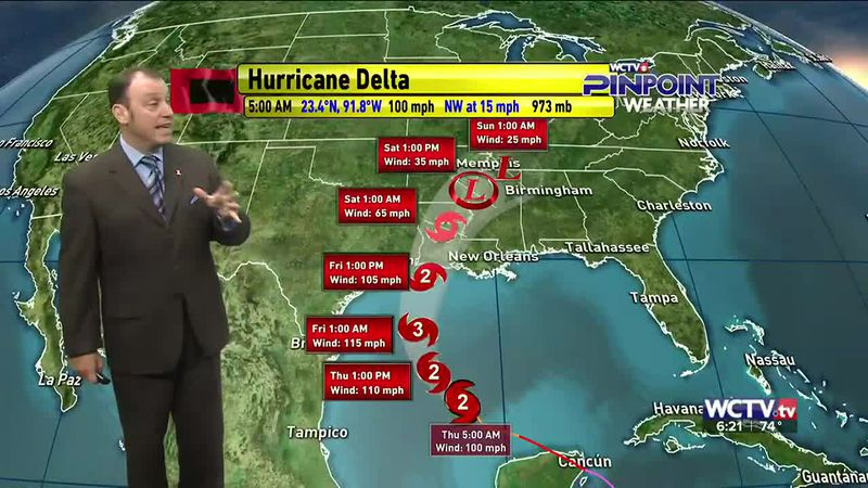 Meteorologist Rob Nucatola gives you the forecast for Thursday, Oct. 8, 2020.