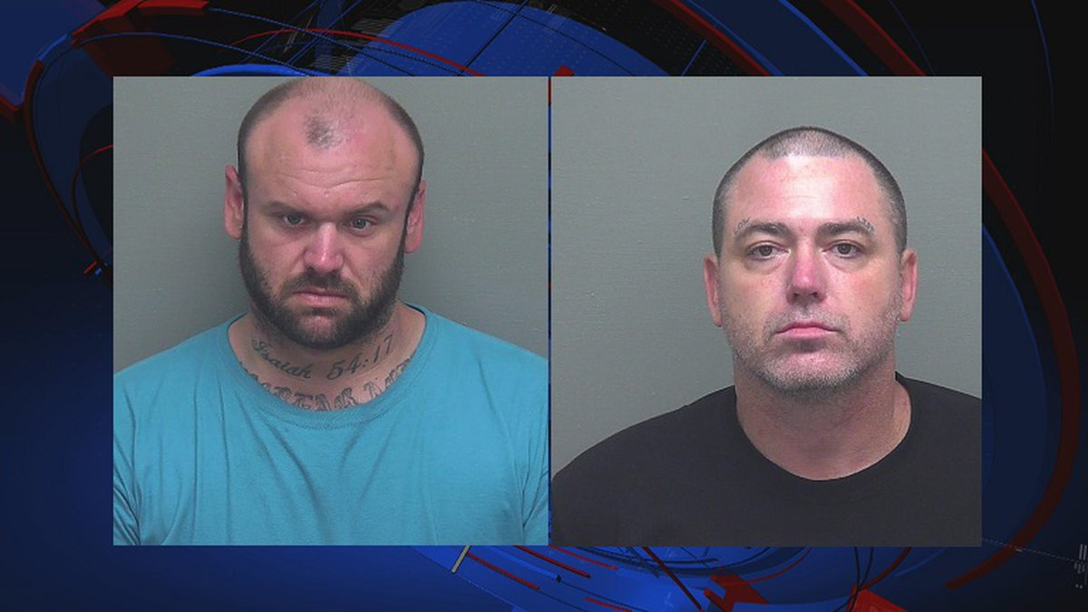 Two Wakulla County men were arrested arrested Thursday following a traffic stop.
