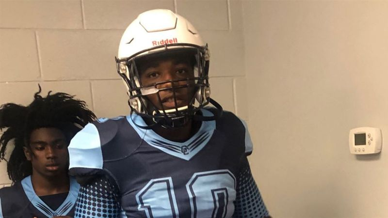 Gadsden County High School defensive lineman Joshua Farmer has signed a National Letter of...