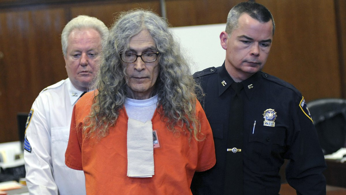 In this Jan. 7, 2013, file photo, convicted serial killer Rodney James Alcala appears in court...