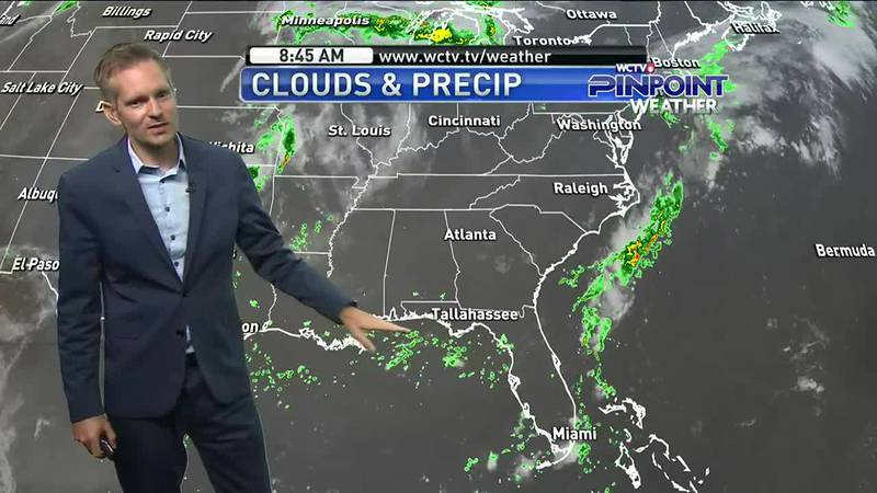 Drier conditions aloft will bring lower rain chances Sunday, but will it last long?...