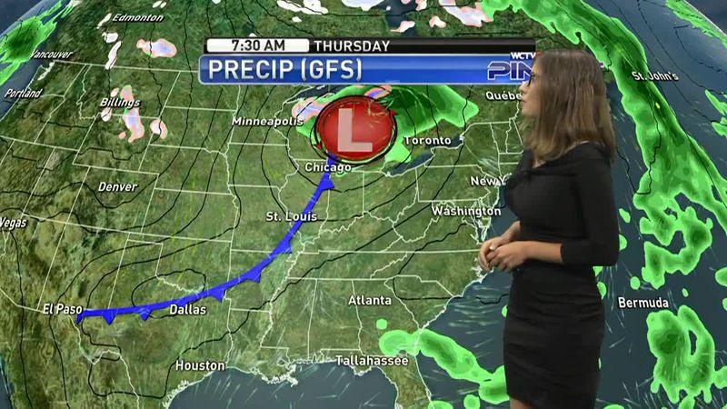 Hannah's Sunday, October 11th evening forecast