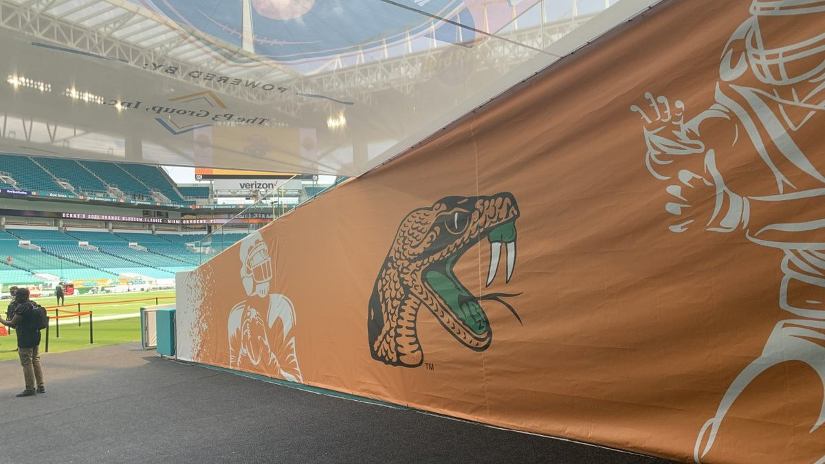 The FAMU Rattlers open their tenure in the SWAC in the Orange Blossom Classic against Jackson...