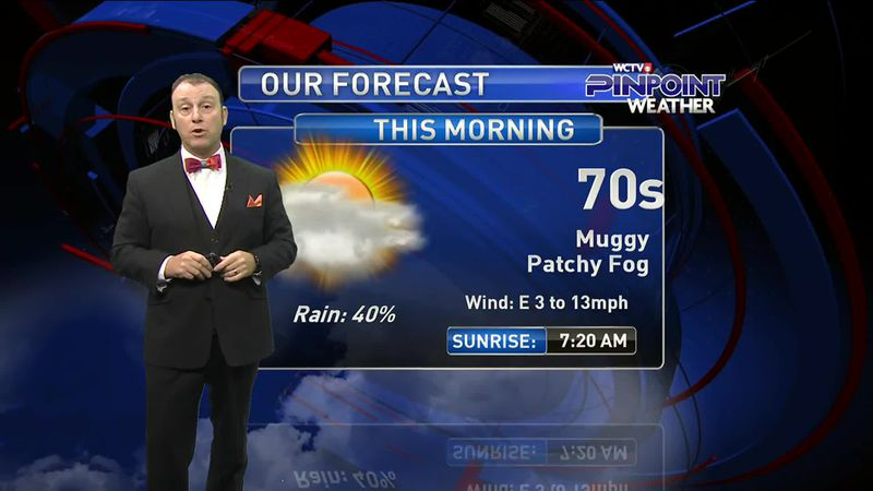 Meteorologist Rob Nucatola gives you the forecast for Friday, Sept. 11, 2020.