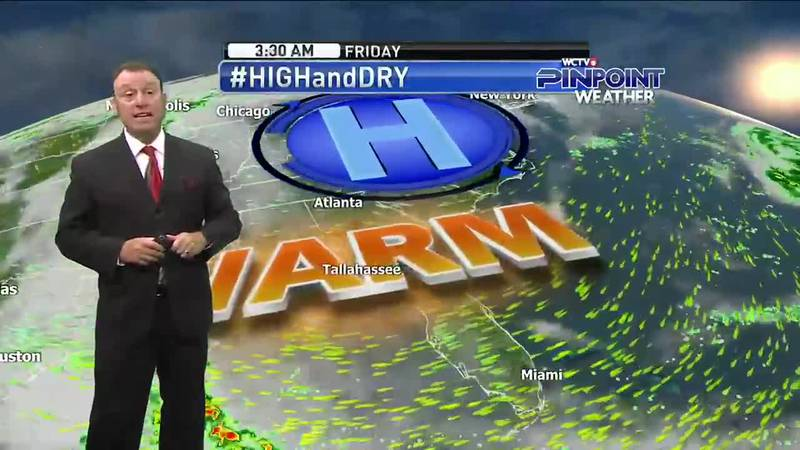Meteorlogist Rob Nucatola gives you the forecast for Wednesday, May 19, 2021.