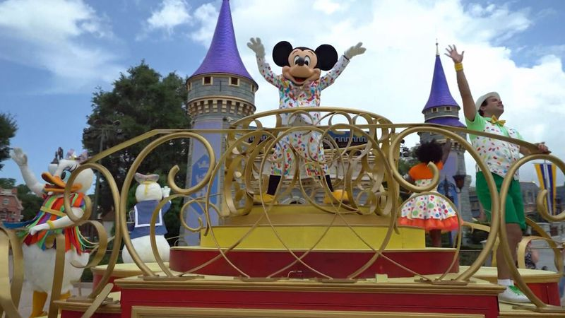 Walt Disney World has loosened its face mask policies after the federal government loosened its...