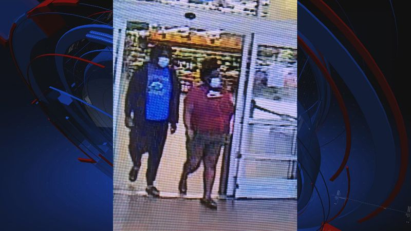 The Leon County Sheriff's Office is asking the public for help identifying two suspects wanted...